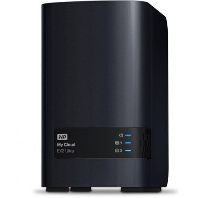 WD My Cloud Expert Series EX2 Ultra Network Attached Storage