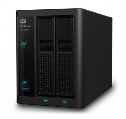 WD My Cloud Pro Series PR2100 Network Attached Storage