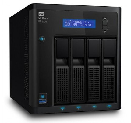 WD My Cloud Pro Series PR4100 Network Attached Storage