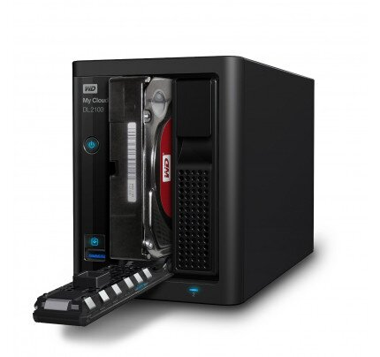WD My Cloud DL2100 Network Attached Storage
