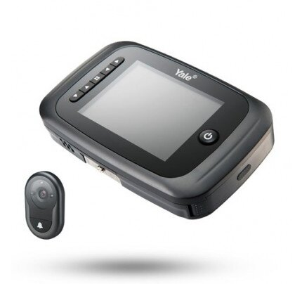 Yale AYRD Black Digital Door Viewer with Recorder