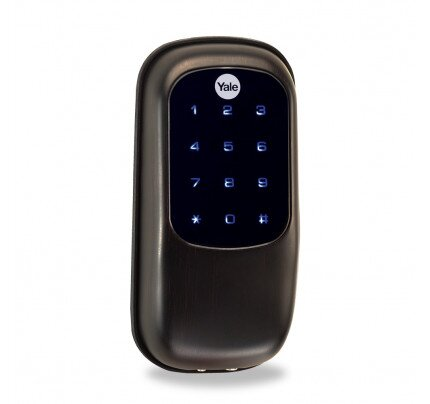 Yale YRD240 Key Free Touchscreen Deadbolt Stand Alone