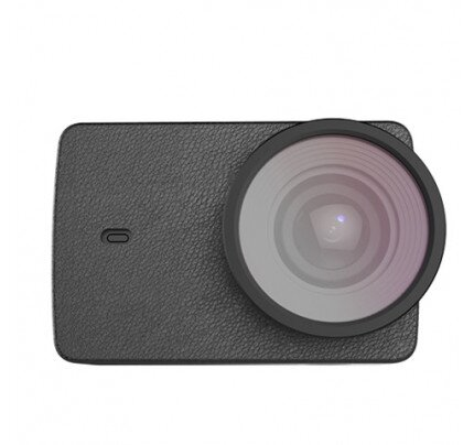 YI 4K/4K+ Action Camera Protective Lens + Leather Case