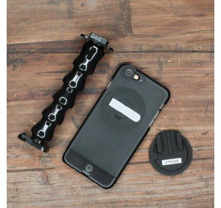Ztylus Gomount Kit: Gomount Disc + Flexible Arm + Ztylus Lite Case