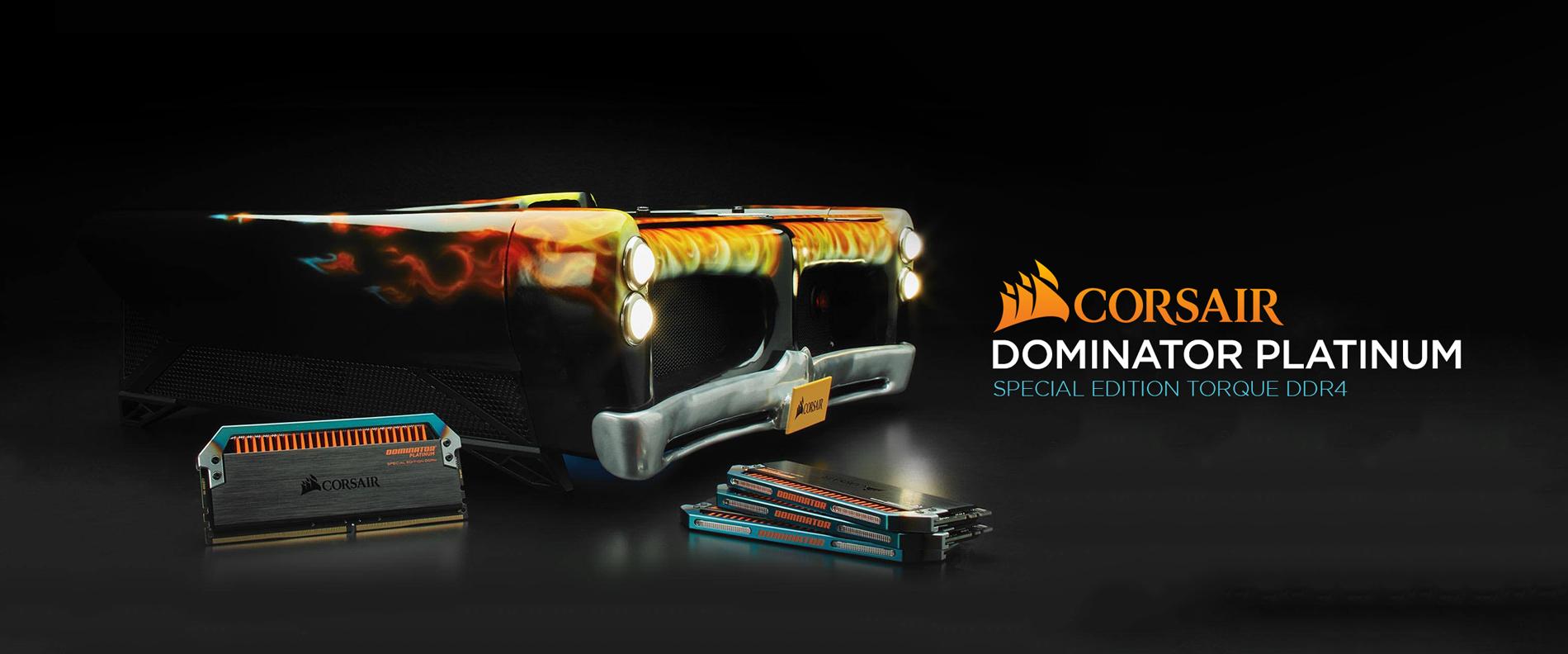 Corsair Dominator Platinum Torque DDR4 Memory