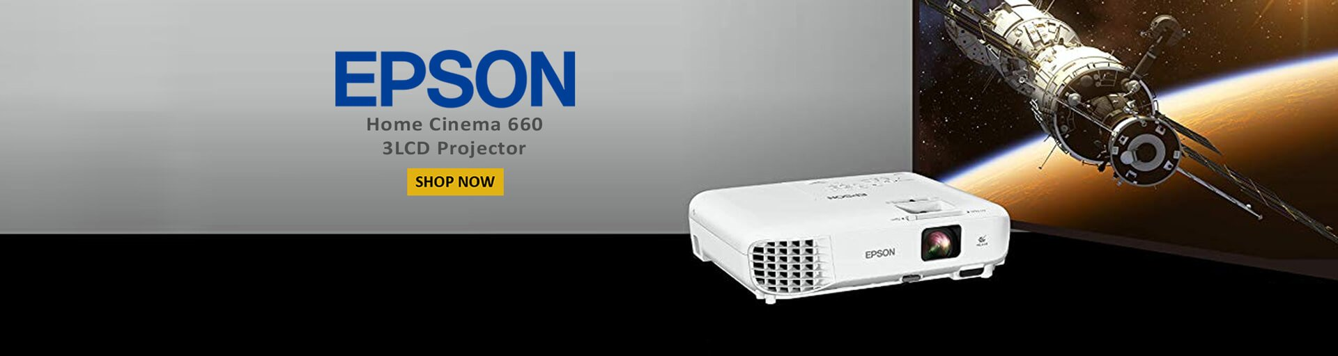 Epson-home cinema 660 3lcd projector