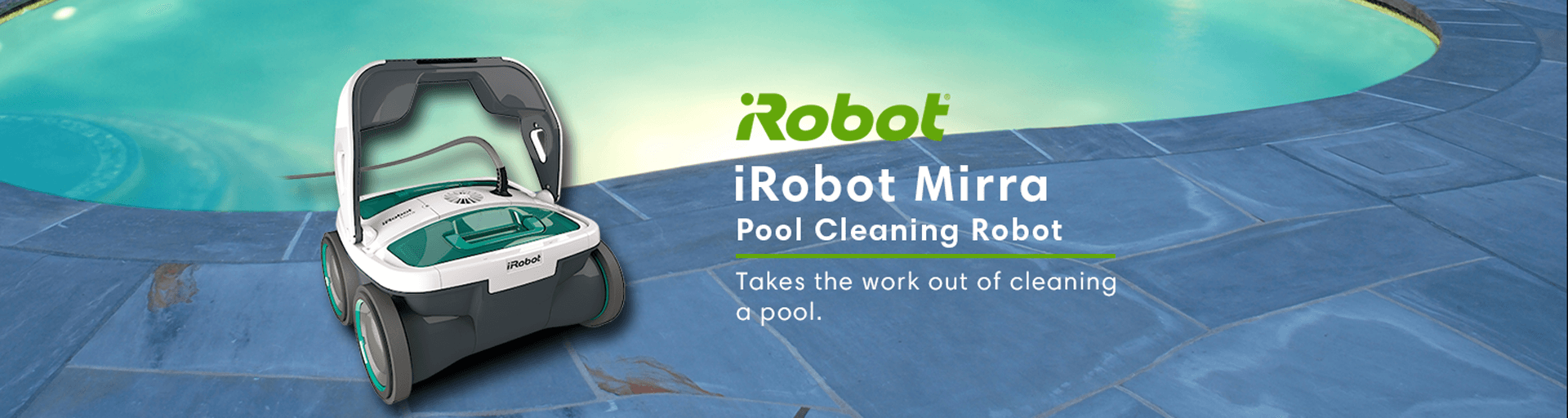 iRobot Mirra 530 - Pool Cleaning Robot