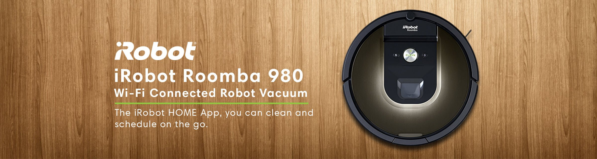 iRobot Roomba 980 Wi-Fi Connected - Robot Vacuum