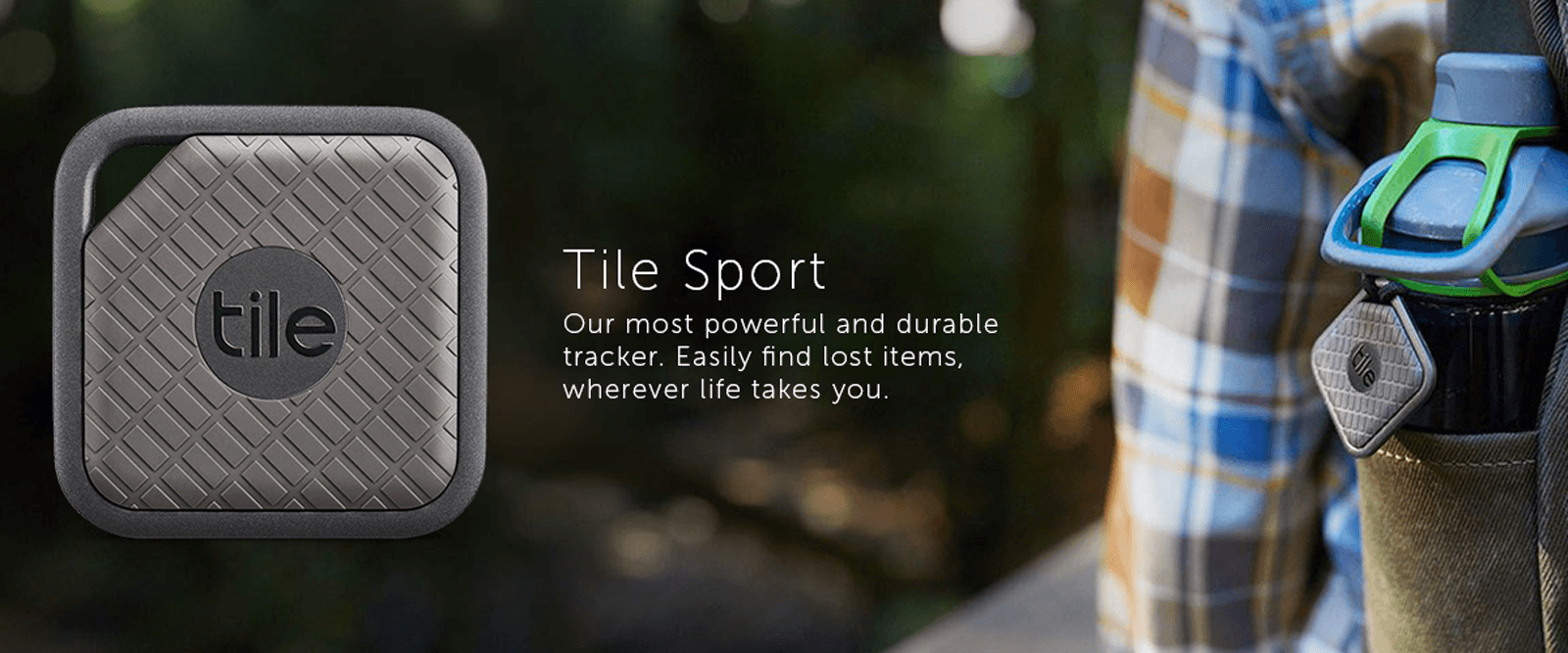 Tile Sport Pro Series -  GPS Trackers